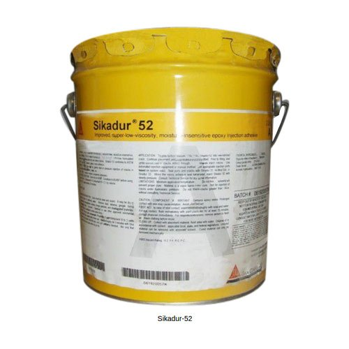 Low viscous Epoxy injection resin | Sika Sikadur 52